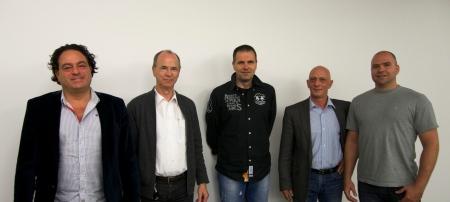 Georges Nikiteas, Joseph Sturm, Markus Blaser, René Bösch und Yvo Furrer